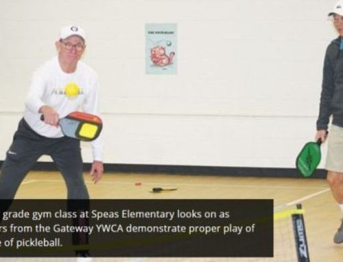 Area schools get taste of pickleball