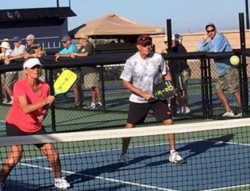 Pickleball Fever! Catch It. Tourney Coming to Wings Event Center.